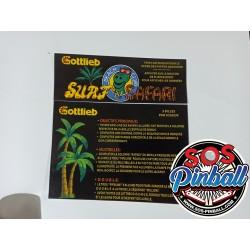 Carte instruction Surf' n...